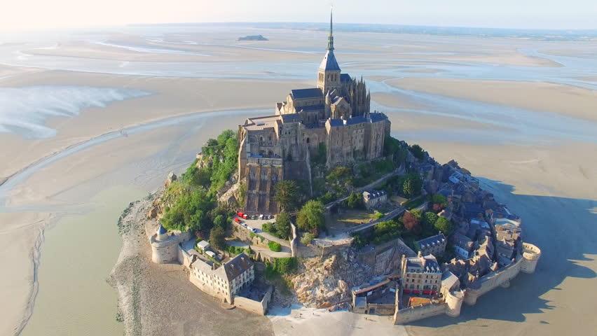 Мон Сен-Мишель Нормандия Франция