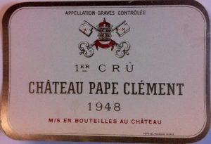 Этикетка французского вина