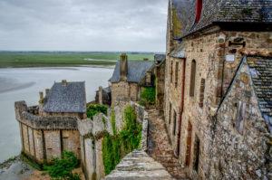 Фото города Мон Сен-Мишель