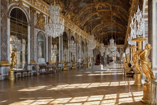 При каком короле построен Версаль