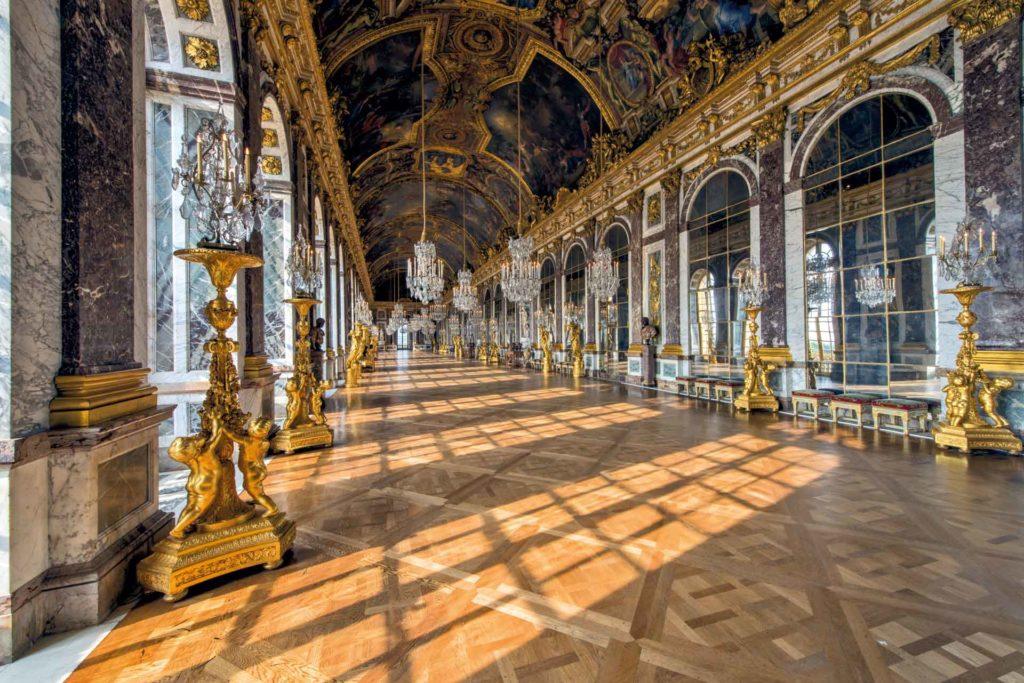 Версальский дворец интерьер