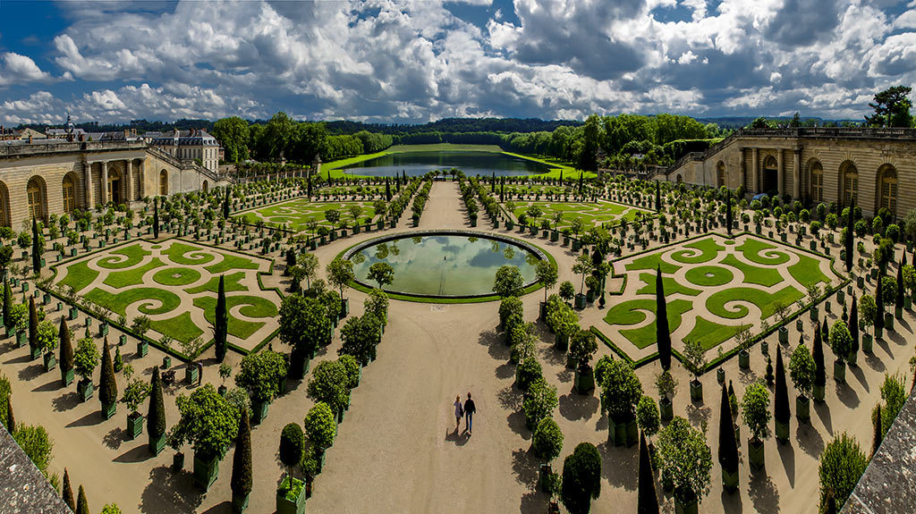 Версаль фото парка