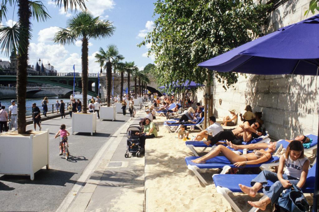 """Берега Сены"" (parc Rives de Seine"