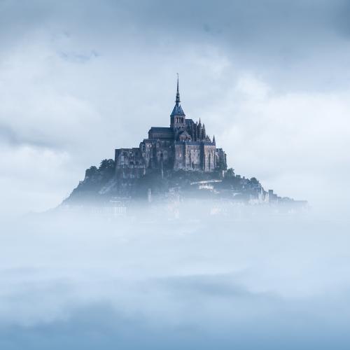 Le Mont Saint-Michel Франция