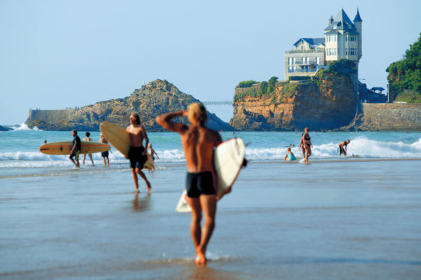 Пляжи Биаррица фото