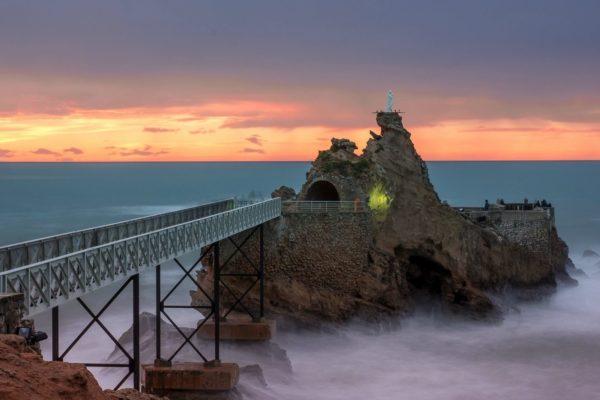 Le Rocher de la Vierge Biarritz