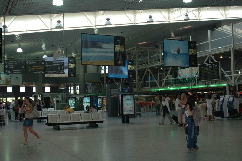 Аэропорт Биарриц Франция фото