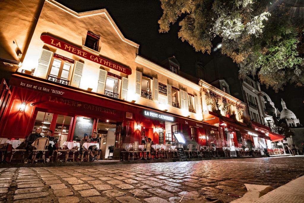 Французский ресторан Chez La Mère Catherine