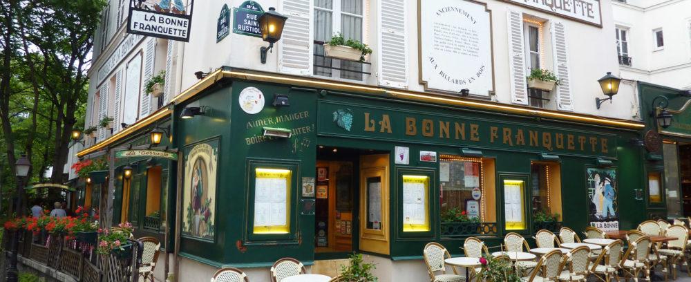 Лучшие рестораны Монмартра