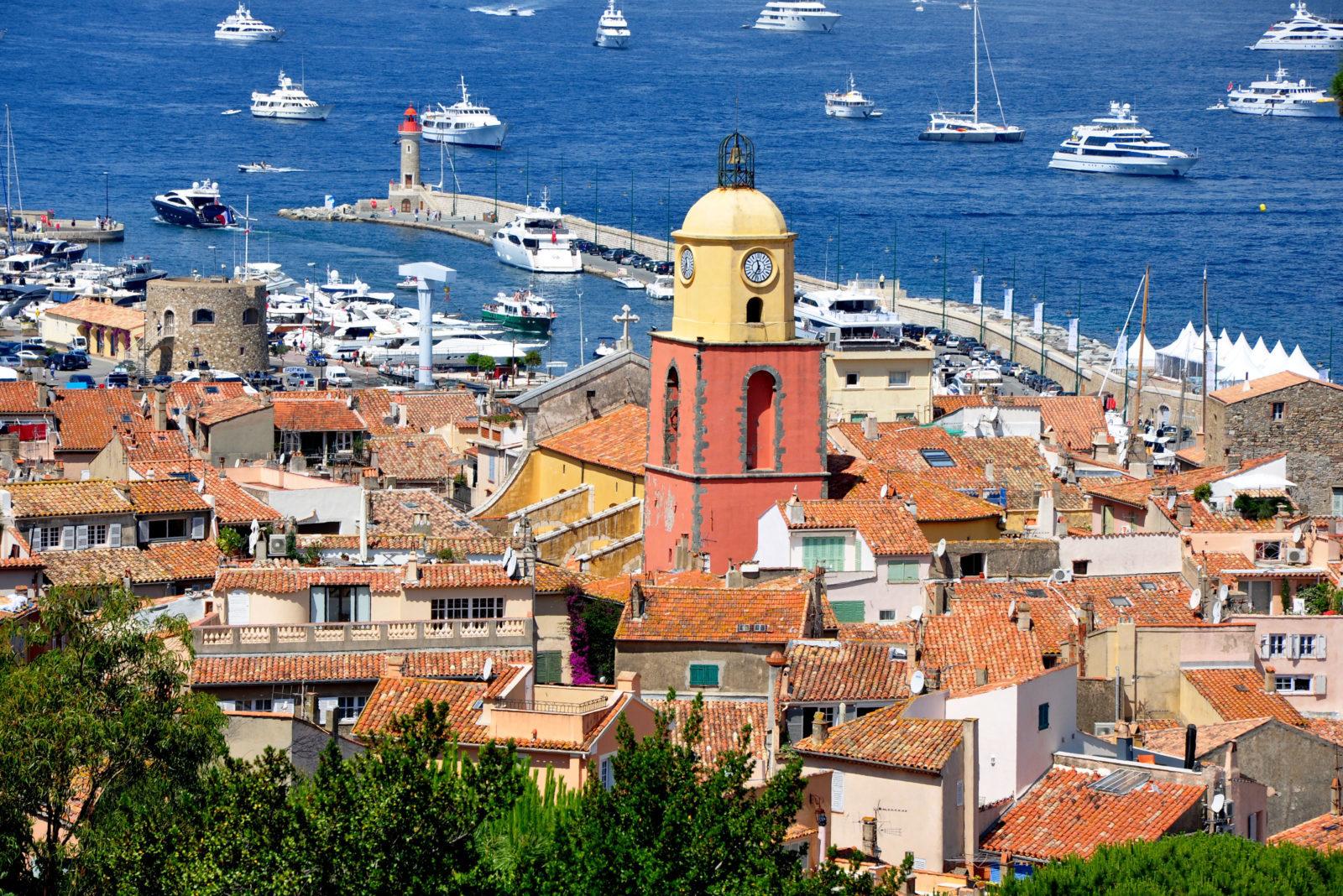 Сен-Тропе Франция фото