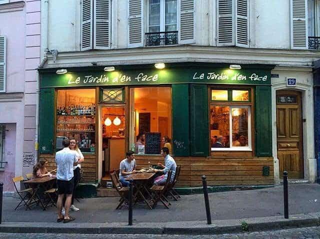 Ресторан Le Jardin d'en Face
