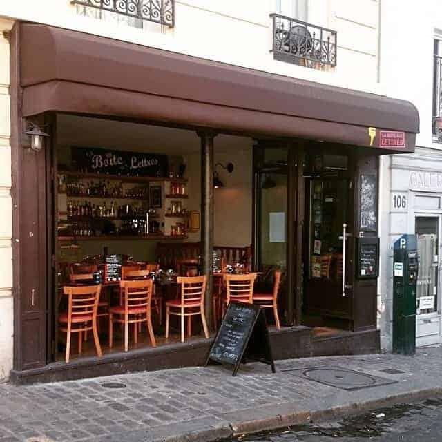 Ресторан La Boîte aux Lettres
