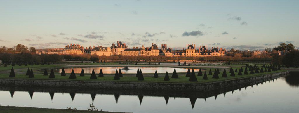 Фонтенбло замок французских королей
