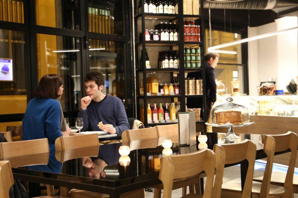 Продуктовые магазины в Париже