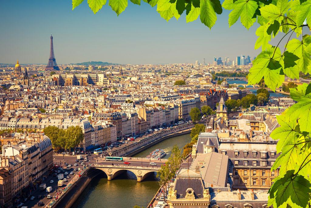 Купить авиабилеты СПБ Париж