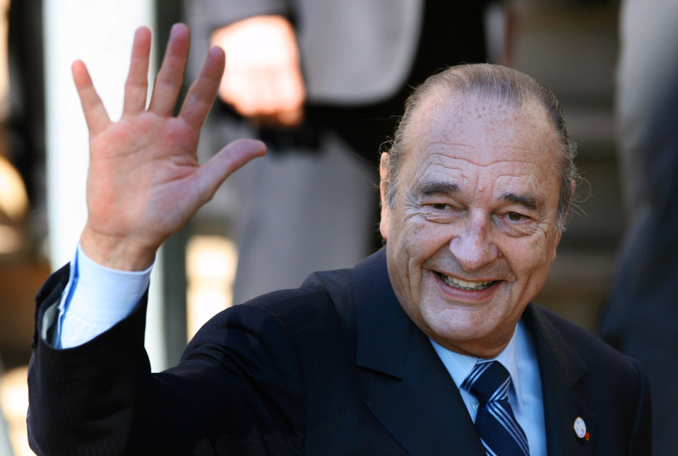 Жак Ширак фото
