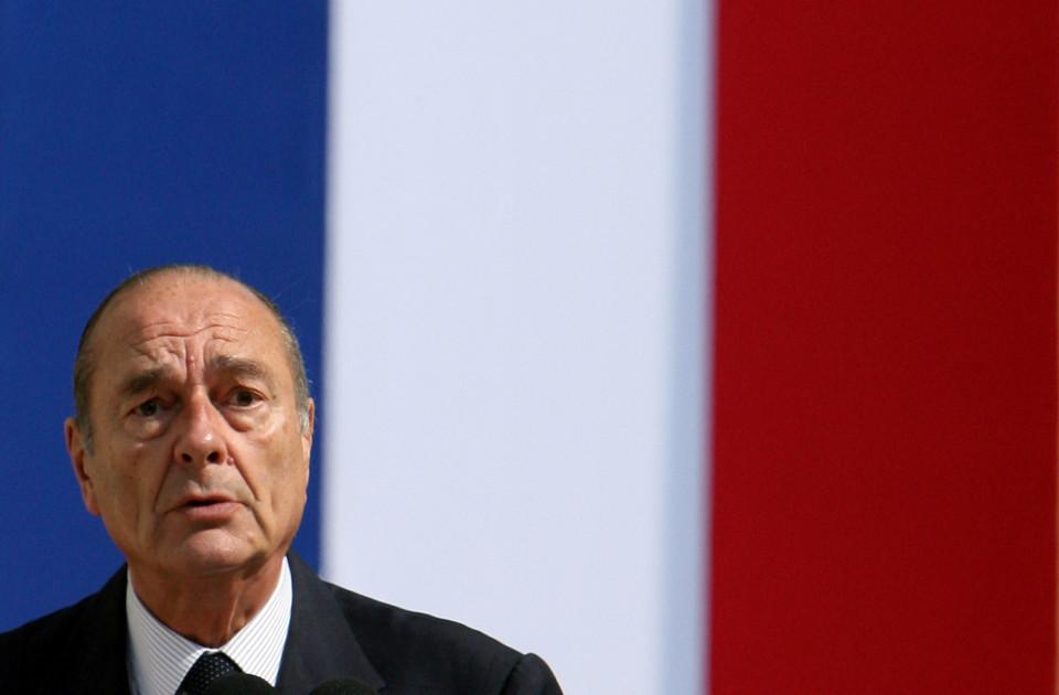Жак Ширак президент Франции