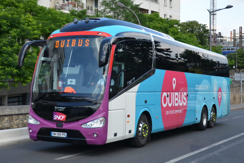 Автобусы из Марселя