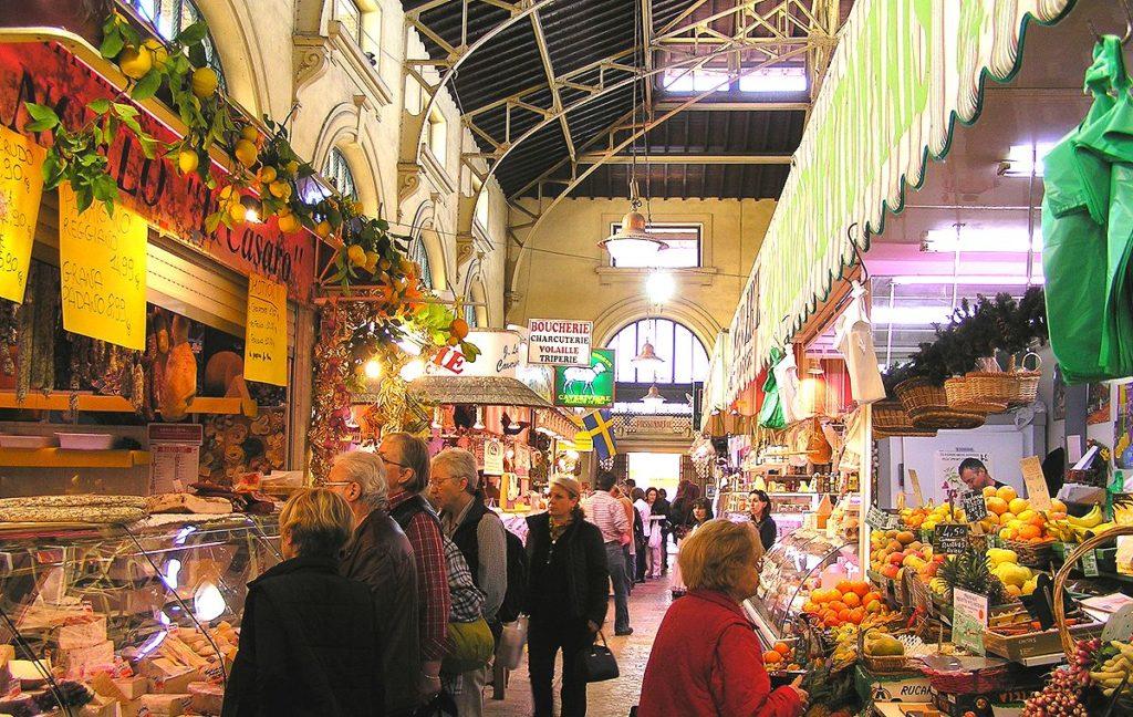 Рынок в Ментоне