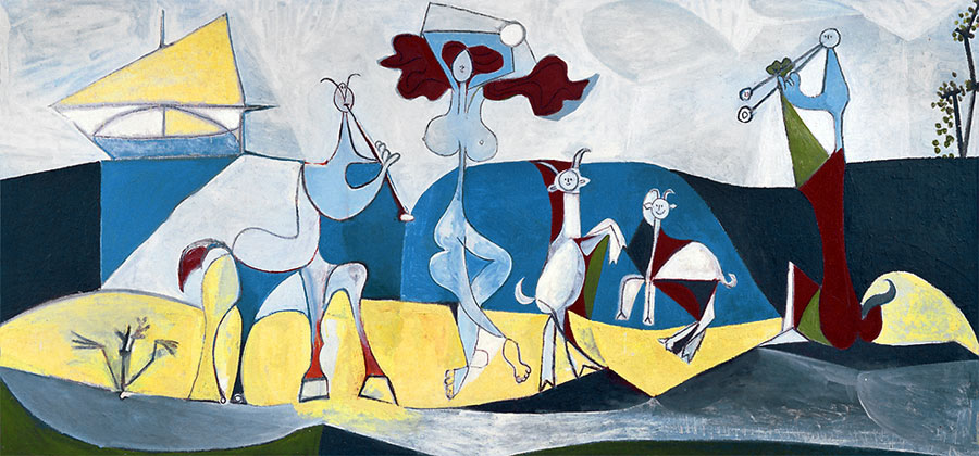 Музей Пикассо в Антибе картины