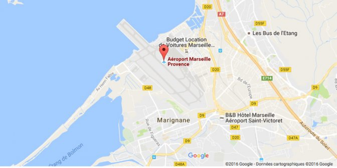 как добраться из аэропорта Марселя до центра