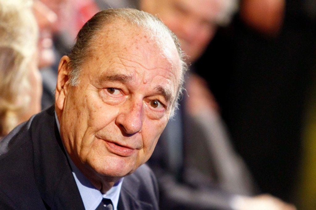 Жак Ширак президент