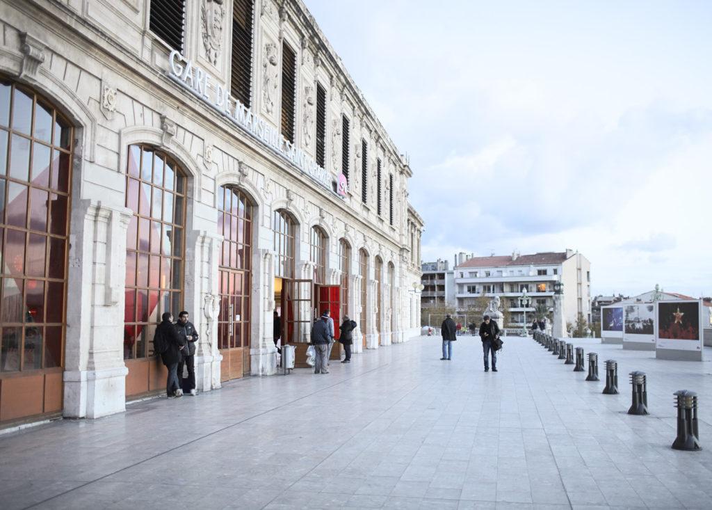 ЖД вокзал в Марселе