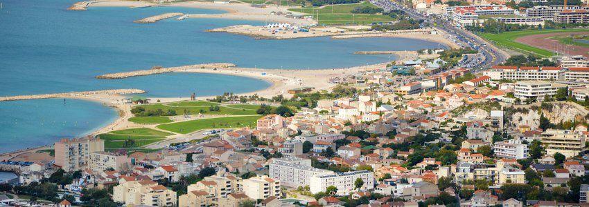 Пляжи Марселя