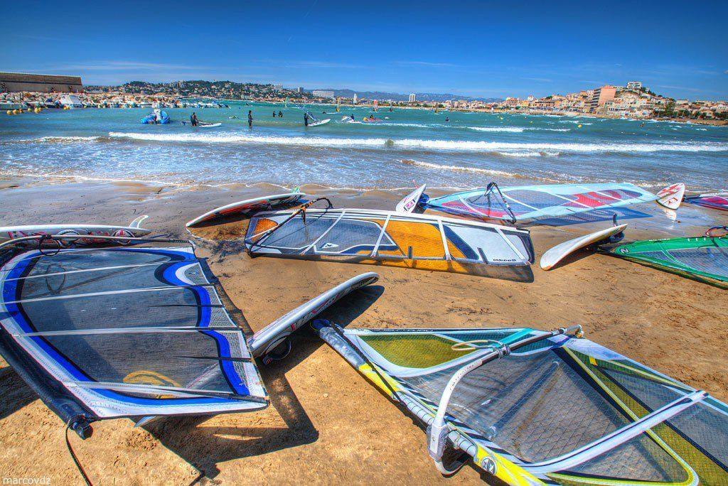 Пляжи Марселя фото