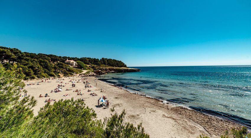 Марсель Франция пляжный отдых
