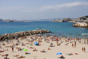 Марсель Франция фото пляж