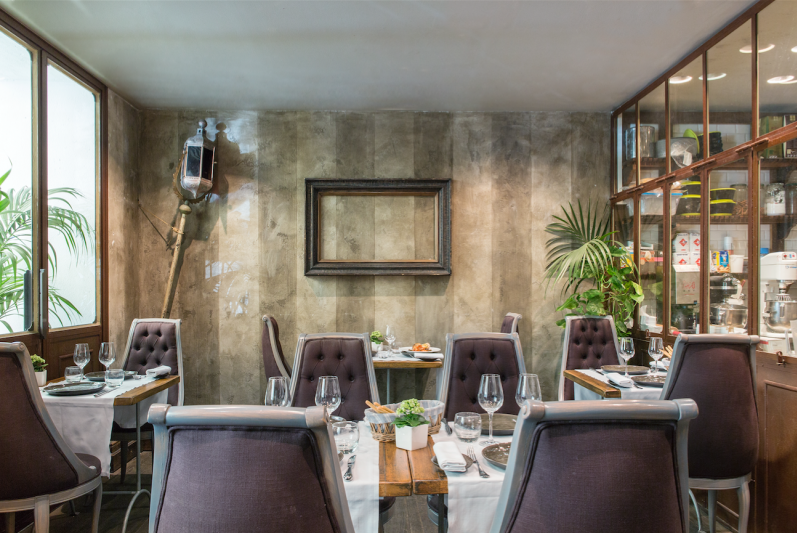 Ресторан в отеле Ницца