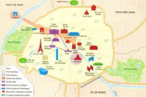Географические координаты Парижа широта и долгота