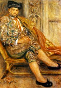 Портрет Амбруаза Воллара в костюме тореадора (1917), Ренуар