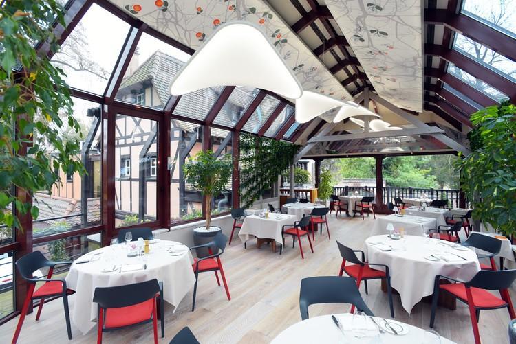 Ресторан Buerehiesel Страсбург Франция