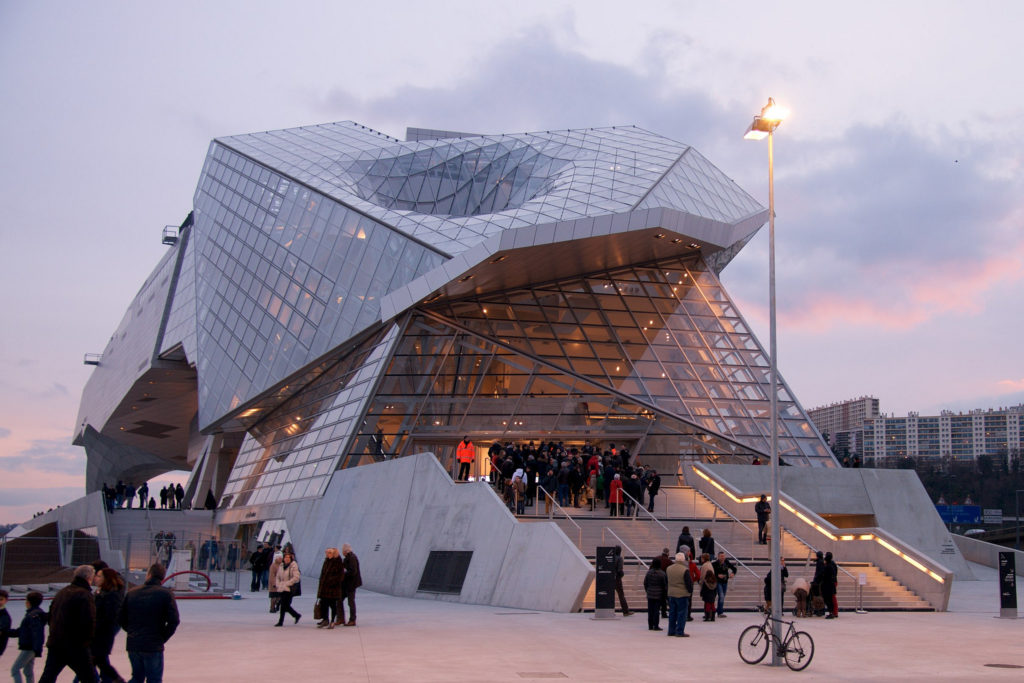 Музей Слияния в Лионе (Musée des Confluences)