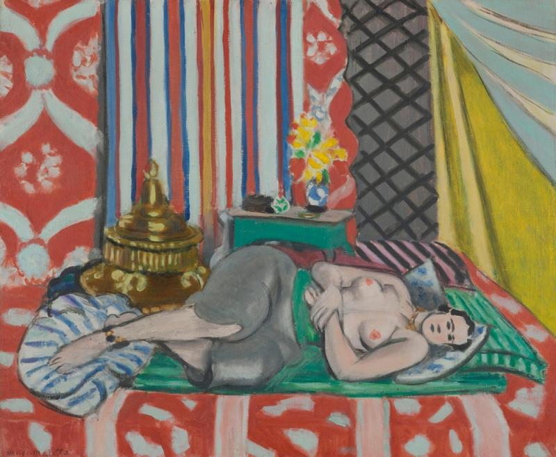 L'Odalisque à la culotte grise, de Matisse