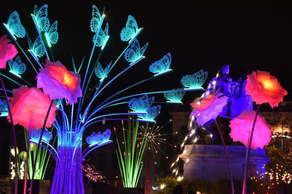 Фестиваль огней в Лионе