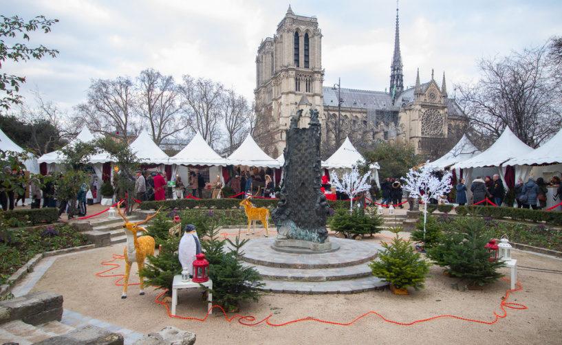 Рождественские ярмарки Париж список