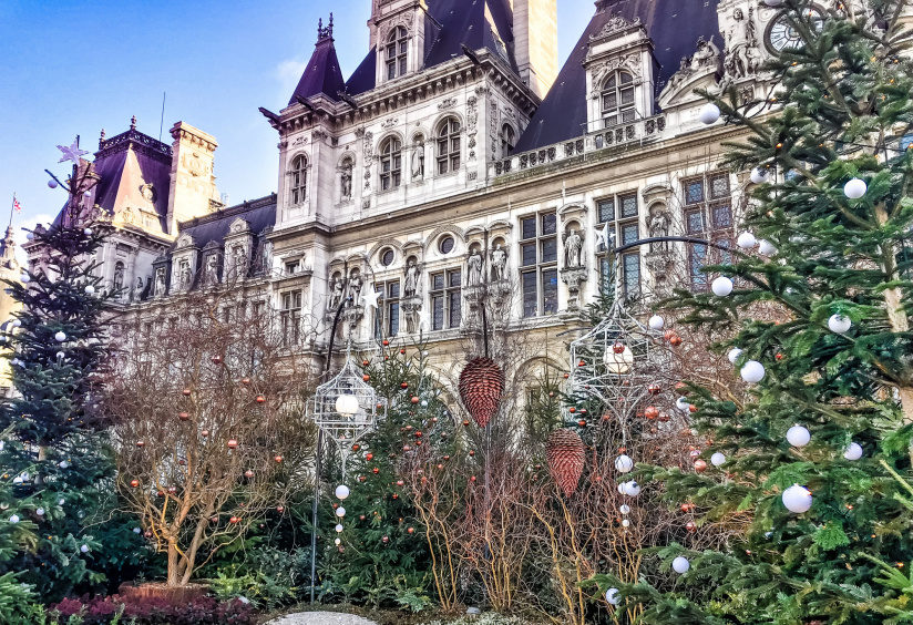 Рождественские ярмарки в Париже 2019 2020