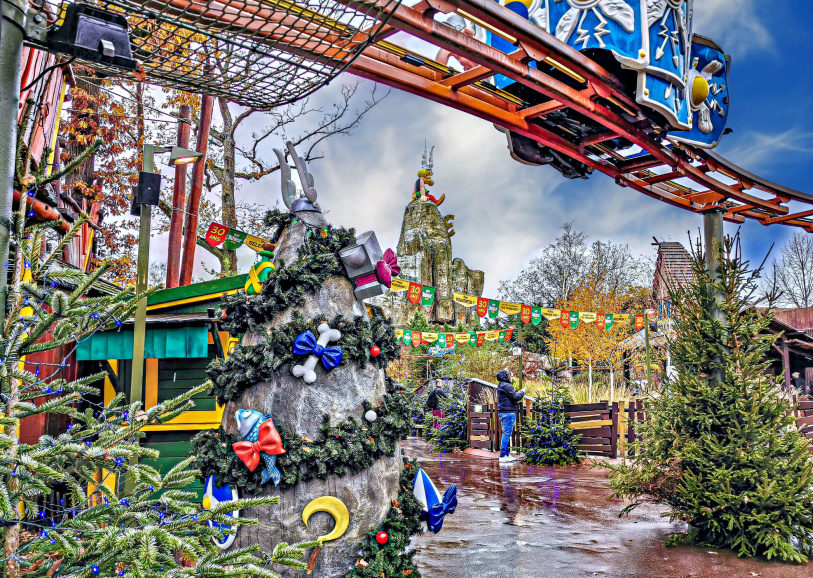 Рождественские каникулы в Париже