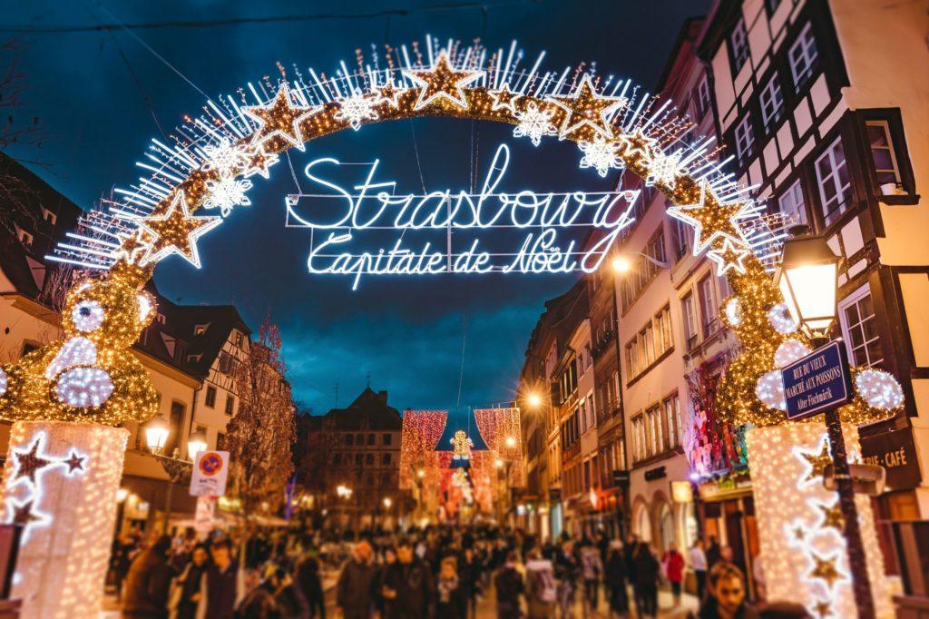 Страсбург Рождественская ярмарка