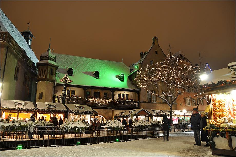 Рождественская ярмарка в Эльзасе