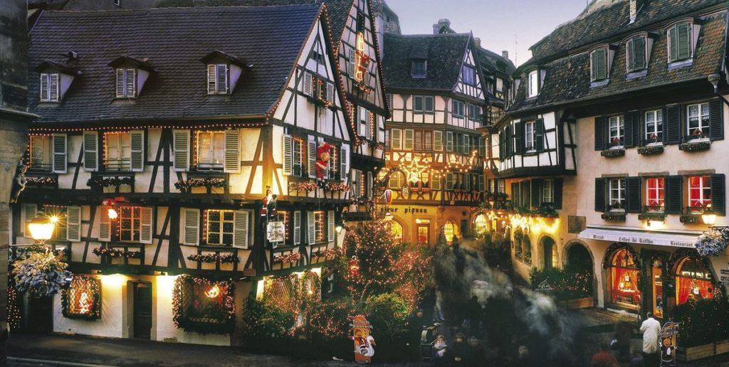 Рождественский Страсбург фото