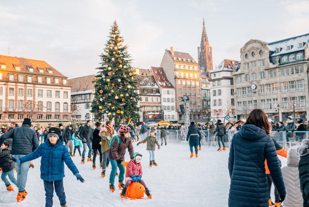 Рождественская ярмарка в Страсбурге 2019