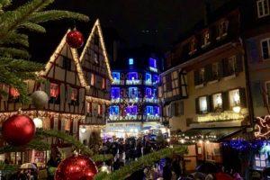 Кольмар Франция Рождество 2019
