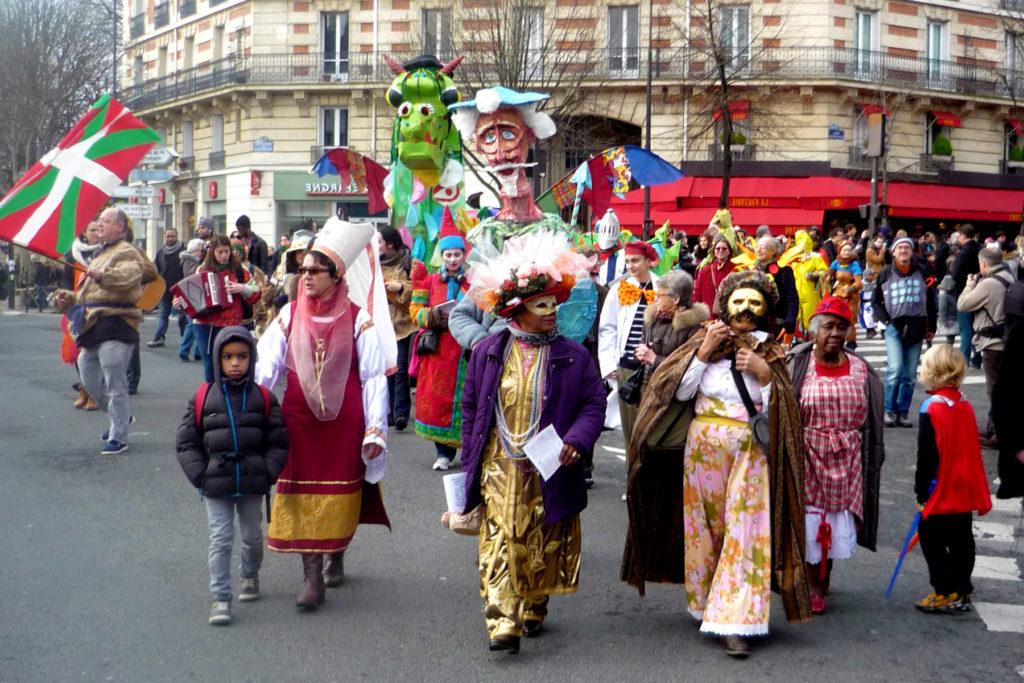Парижский карнавал 2020