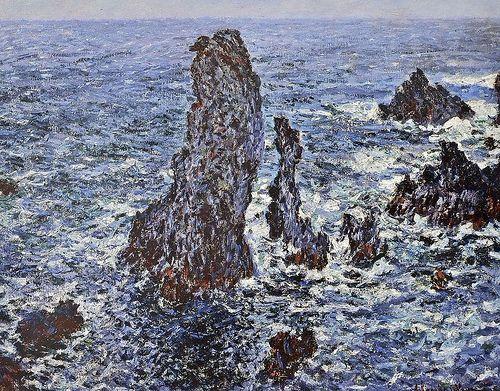 Картина Скалы в Бель-Иль
