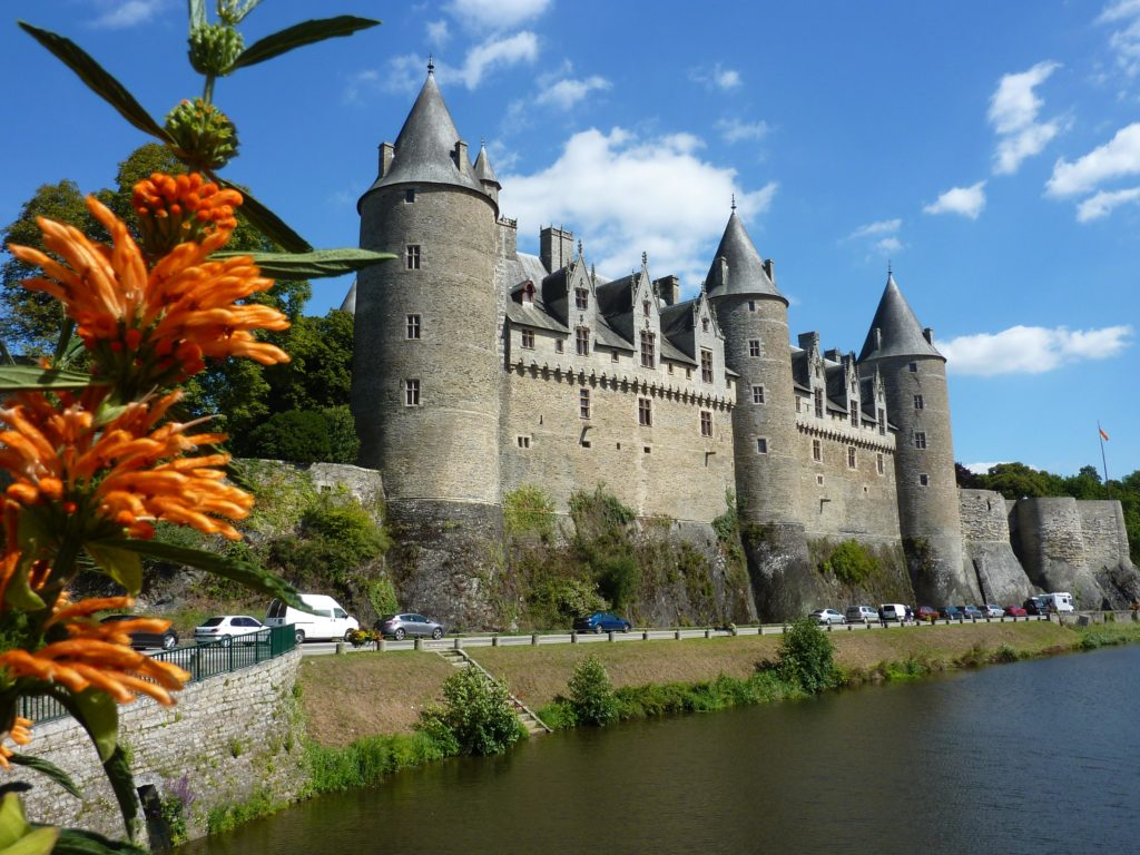 Замок Жослен фото