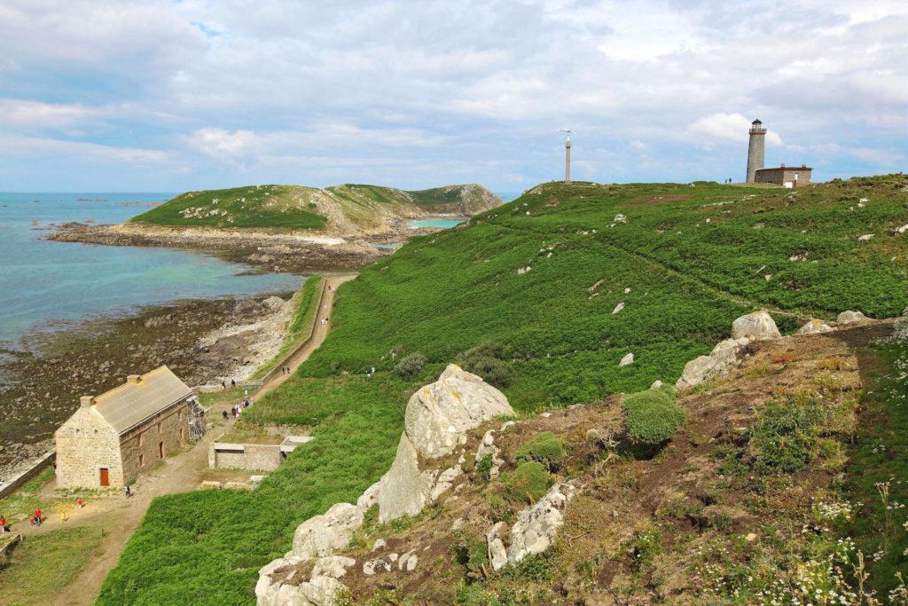 Архипелаг les Sept Iles Бретань Франция